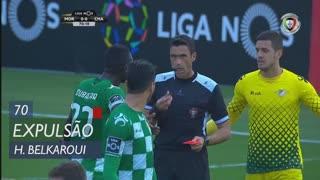 Moreirense FC, Expulsão, H. Belkaroui aos 70'