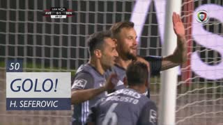 GOLO! SL Benfica, H. Seferovic aos 50', CD Aves 0-2 SL Benfica