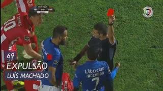 CD Feirense, Expulsão, Luís Machado aos 69'