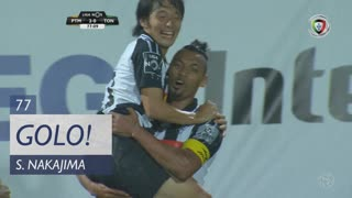 GOLO! Portimonense, S. Nakajima aos 77', Portimonense 2-0 CD Tondela