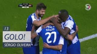 GOLO! FC Porto, Sérgio Oliveira aos 13', FC Porto 1-0 SC Braga