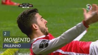SC Braga, Jogada, Paulinho aos 2'