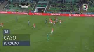 Moreirense FC, Caso, K. Kouao aos 38'