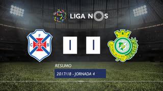 Liga NOS (4ªJ): Resumo Os Belenenses 1-1 Vitória FC