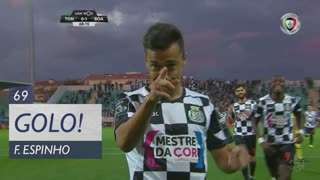 GOLO! Boavista FC, Fábio Espinho aos 69', CD Tondela 0-2 Boavista FC