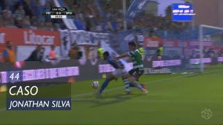 Sporting CP, Caso, Jonathan Silva aos 44'
