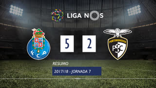 I Liga (7ªJ): Resumo FC Porto 5-2 Portimonense