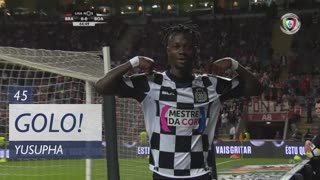 GOLO! Boavista FC, Yusupha aos 45', SC Braga 0-1 Boavista FC
