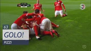 GOLO! SL Benfica, Pizzi aos 63', SL Benfica 2-1 Rio Ave FC
