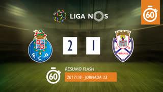 Liga NOS (33ªJ): Resumo Flash FC Porto 2-1 CD Feirense