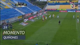 FC P.Ferreira, Jogada, Quiñones aos 39'