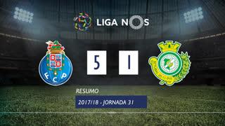 Liga NOS (31ªJ): Resumo FC Porto 5-1 Vitória FC