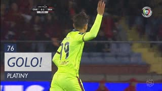 GOLO! GD Chaves, Platiny aos 76', GD Chaves 1-3 SC Braga