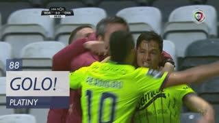 GOLO! GD Chaves, Platiny aos 88', Boavista FC 3-3 GD Chaves