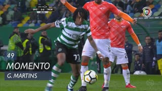 Sporting CP, Jogada, Gelson Martins aos 49'