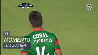 Marítimo M., Jogada, Luís Martins aos 31'