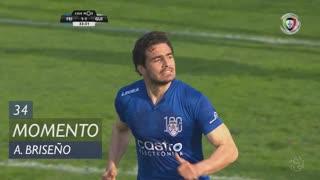 CD Feirense, Jogada, A. Briseño  aos 34'