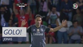 GOLO! SL Benfica, Jonas aos 2', Marítimo M. 1-0 SL Benfica