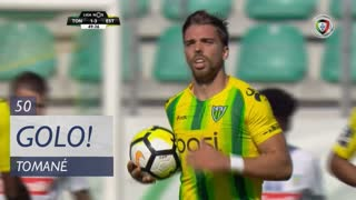 GOLO! CD Tondela, Tomané aos 50', CD Tondela 1-3 Estoril Praia