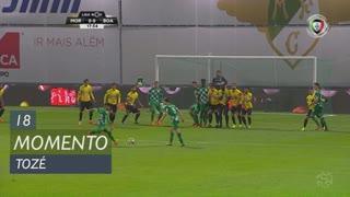 Moreirense FC, Jogada, Tozé aos 18'