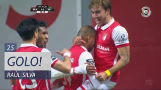 GOLO! SC Braga, Raúl Silva aos 25', SC Braga 1-0 Vitória FC