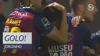 GOLO! GD Chaves, Jorginho aos 83', GD Chaves 4-2 FC P.Ferreira