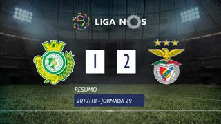 Liga NOS (29ªJ): Resumo Vitória FC 1-2 SL Benfica
