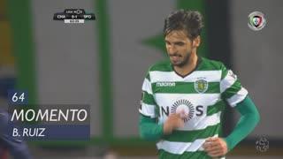 Sporting CP, Jogada, B. Ruiz aos 64'