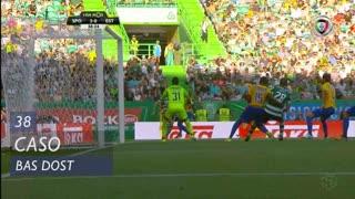Sporting CP, Caso, Bas Dost aos 38'