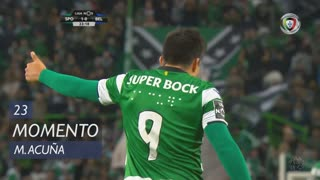 Sporting CP, Jogada, M. Acuña aos 23'