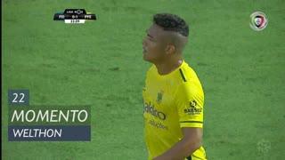 FC P.Ferreira, Jogada, Welthon aos 22'