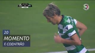 Sporting CP, Jogada, Fábio Coentrão aos 20'
