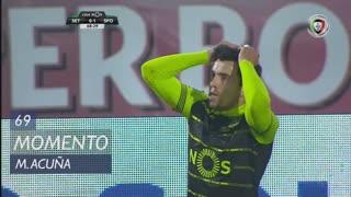 Sporting CP, Jogada, M. Acuña aos 69'