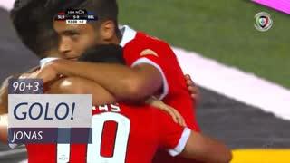 GOLO! SL Benfica, Jonas aos 90'+3', SL Benfica 5-0 Belenenses