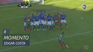Marítimo M., Jogada, Edgar Costa aos 8'
