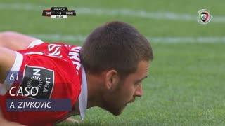 SL Benfica, Caso, A. Zivkovic aos 61'