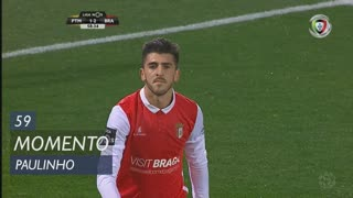 SC Braga, Jogada, Paulinho aos 59'