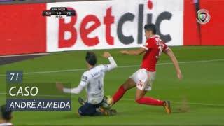 SL Benfica, Caso, André Almeida aos 71'