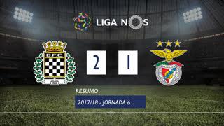 Liga NOS (6ªJ): Resumo Boavista FC 2-1 SL Benfica