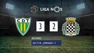 Liga NOS (11ªJ): Resumo CD Tondela 3-2 Boavista FC