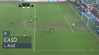 Boavista FC, Caso, L. Ruiz aos 9'