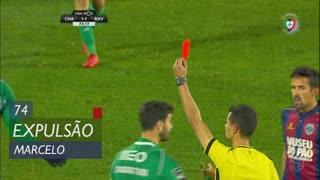 Rio Ave FC, Expulsão, Marcelo aos 74'