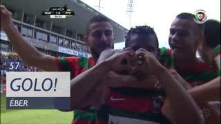 GOLO! Marítimo M., Éber Bessa aos 57', Marítimo M. 1-0 FC P.Ferreira