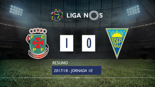 Liga NOS (10ªJ): Resumo FC P.Ferreira 1-0 Estoril Praia