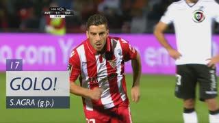 GOLO! CD Aves, Salvador Agra aos 17', CD Aves 1-1 Vitória SC