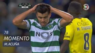 Sporting CP, Jogada, M. Acuña aos 78'