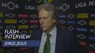 Liga (31ª): Flash interview Jorge Jesus