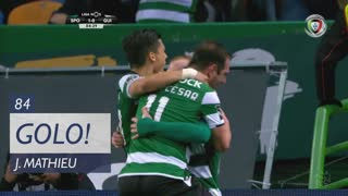 GOLO! Sporting CP, J. Mathieu aos 84', Sporting CP 1-0 Vitória SC