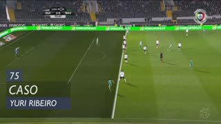 Rio Ave FC, Caso, Yuri Ribeiro aos 75'