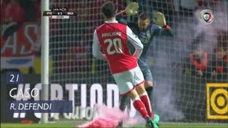 FC P.Ferreira, Caso, Rafael Defendi aos 21'